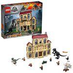 LEGO Sale bei Amazon.fr – z.B. Indoraptor-Verwüstung des Lockwood Anwesens für 80,13€ (statt 95€)