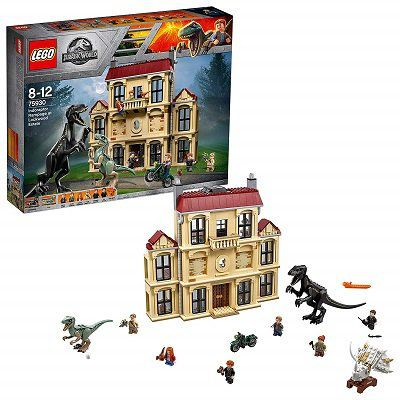 LEGO Sale bei Amazon.fr   z.B. Indoraptor Verwüstung des Lockwood Anwesens für 80,13€ (statt 95€)