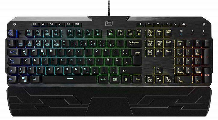 Top! Lioncast LK300 RGB Tastatur mit mechanischen Tasten für 60,89€ (statt 94€)