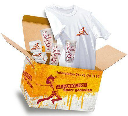 "Aktionsbox ""Alkoholfrei Sport genießen"" kostenlos ordern"