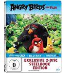 Angry Birds – Der Film (Exklusives Steelbook mit 3D-Lentikularkarte – 3D+2D Blu-ray) für 7,99€ (statt 27€)
