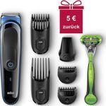 BRAUN MGK3040 – elektrischer 7in1 Rasierer und Barttrimmer für 24,99€ (statt 30€) + 5€ Cashback