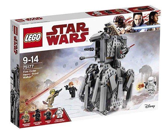 Lego Star Wars   First Order Heavy Scout Walker (75177) für 31,48€ (statt 39€)