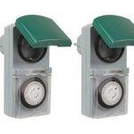 3er Pack Zeitschaltuhr IP44 16A für Außen & Innen für 14,99€(statt 23€)