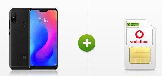 Vodafone Allnet Flat von mobilcom mit 4GB für 16,99€ mtl. + Xiaomi Redmi Note 6 Pro für 19€