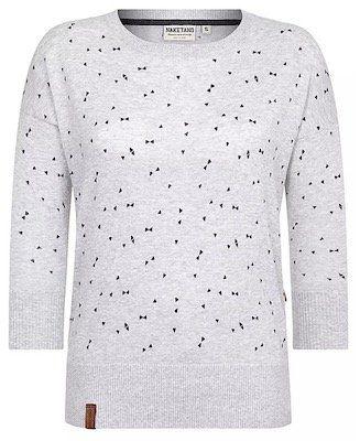 Schnell? Naketano Damen Pullover Maja Triangles für 12,67€ (statt 35€)