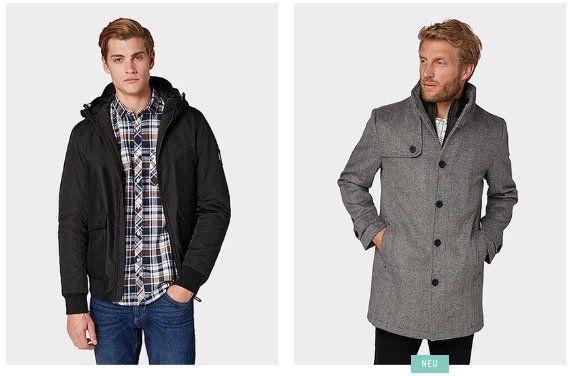Tom Tailor mit 40% Rabatt auf reduzierte Jacken und Mäntel z.B. Denim Jacke Blouson Style für 54,98€ (statt 99,99€)