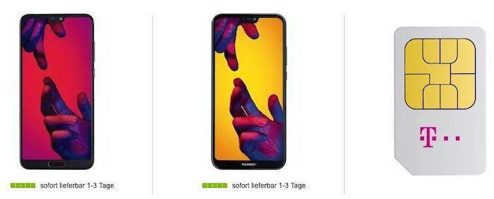 Knaller! Huawei P20 Pro + P20 lite für 4,99€ inkl. Telekom Magenta Mobil M mit 10GB LTE (Young 16GB LTE) für 45€mtl. (Young 40€ mtl.)   nur für Telekom DSL Kunden