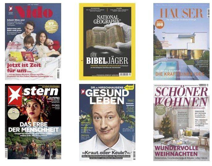DPV Weihnachtskampagne mit tollen Zeitschriften Geschenkabos   z.B. 1 Jahr Capital für 102€ + 90€ (Tank ) Gutschein