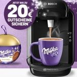 Tassimo Vivy 2 + Milka Weihnachtskugel + 20€ Gutscheine für 26,99€
