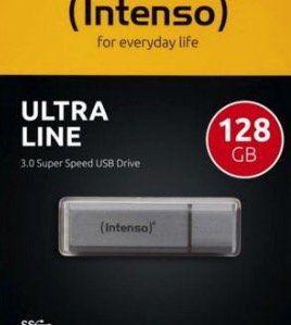 Intenso Ultra Line – 128GB USB3 Speicherstick für 12,99€ (statt 16€)