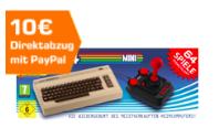 🔥 Nikolaus bei Saturn   Bis zu 150€ Direktabzug bei Zahlung via PayPal – z.B. C64 Mini für 35€ inkl. VSK