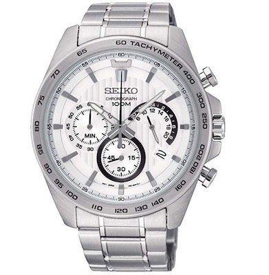 Seiko SSB297P1 Herrenuhr mit Edelstahl Armband für 93€(statt 136€)