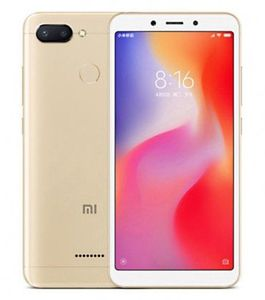 eBay: Xiaomi Redmi 6   5,45 Zoll Smartphone in Gold mit 64GB für 108,79€