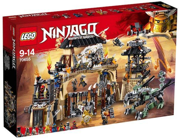 Lego Ninjago   Drachengrube (70655) für 89,99€ (statt 110€)