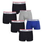 6er Pack Reebok Mens Trunks Boxershorts für 35,95€ (statt 70€?)