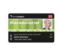 20% Rabatt auf die Probe BahnCard 100 65+: 3 Monate ticketlos reisen ab 65 Jahren für einmalig 999€