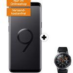 Samsung Galaxy S9 inkl. Samsung Galaxy Watch 46mm für 29€ + Telekom Allnet-Flat mit 2GB für 29,99€ mtl.