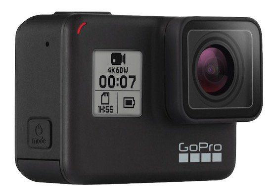 GoPro Hero7 Black Actioncam (4k mit 60fps) inkl. GoPro Abenteuer Kit für 299€ (statt 340€)