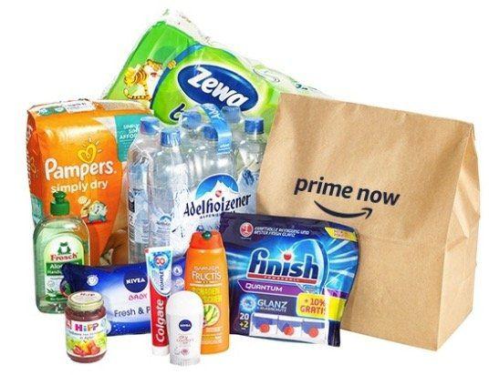 20€ Amazon Prime Now Gutschein für 1€ (50€ MBW)   gilt nur für Erstbestellungen