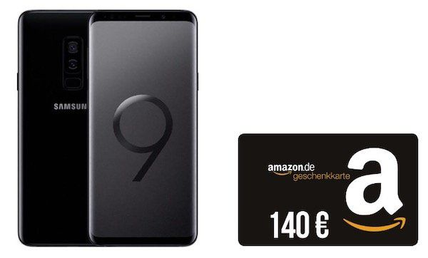 Samsung Galaxy S9 inkl. 140€ Amazon Gutschein für 4,95€ + Vodafone Smart L+ mit 5GB LTE für 36,99€   junge Leute 10GB LTE