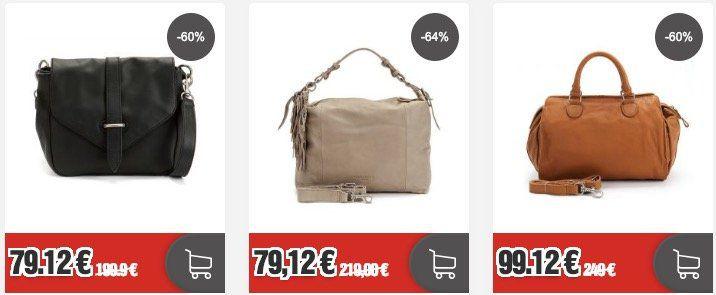Top! Liebeskind Sale bei Top12   z.B. Anuk Schultertasche für 79,12€ (statt 149€)