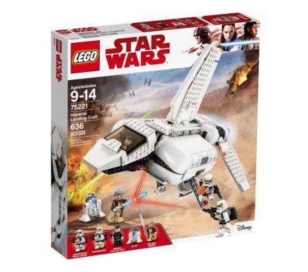Lego Star Wars (75221) Imperiale Landefähre für 49,99€(statt 75€)