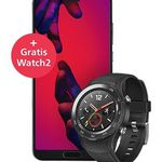 Huawei P20 Pro + Huawei Watch 2 LTE Smartwatch für 637€ (statt 835€)