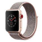 Apple Watch Series 3 (GPS + LTE) 38mm in Gold oder Silber mit Sport Loop für 315€ (statt 399€)