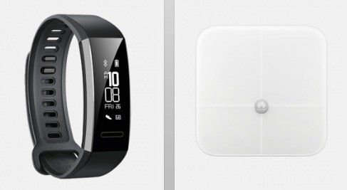 Huawei Band 2 Pro Fitness Tracker + Huawei Körperfettwaage AH100 für 4,95€ + Vodafone 100 Min. + 1GB für 4,99€ mtl.