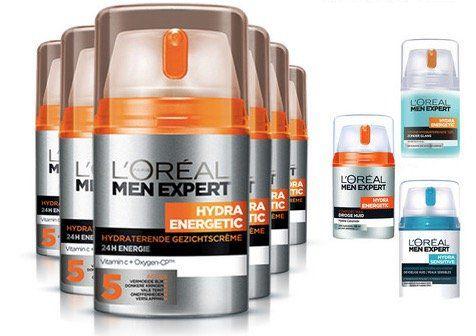 6er Pack LOréal Paris Hautpflege für Männer für 35,90€ (statt 42€)