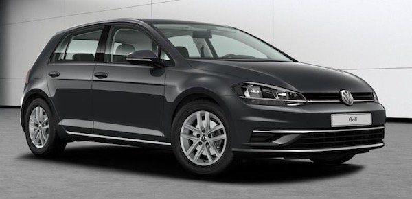 VW Golf Comfortline 1.6 TDI Gewerbe Leasing für 106,79€ mtl. brutto