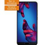 Huawei P20 für 29€ + o2 Allnet-Flat mit 3GB LTE für 14,99€ mtl.