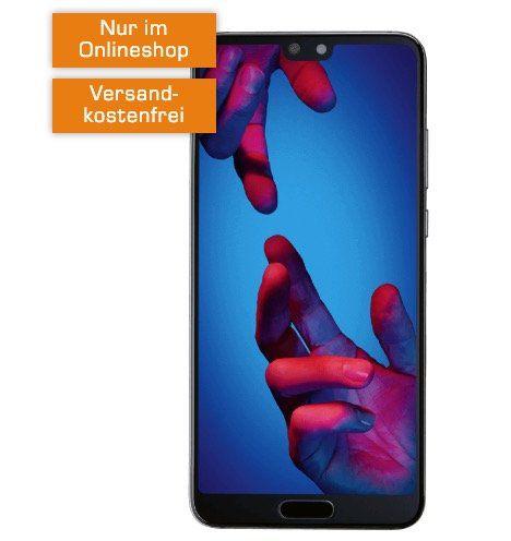 Huawei P20 für 29€ + o2 Allnet Flat mit 3GB LTE für 14,99€ mtl.