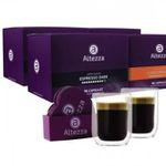 384 Altezza Kapseln (geeignet für Nespresso) + 2 luxuriöse doppelwandige Gläser & Untersetzer für 49,99€