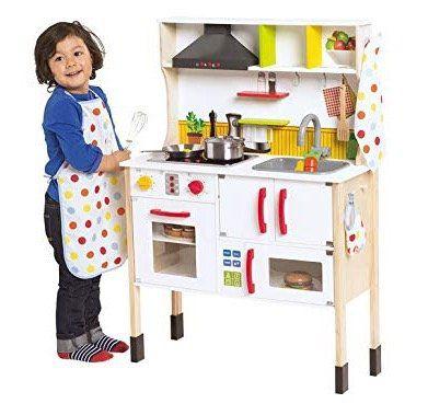 Playtive Junior Spielküche aus Holz für 42,94€