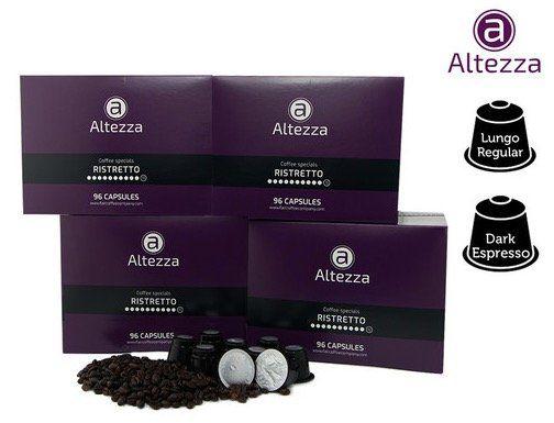 384 Altezza Kaffeekapseln für Nespresso für 45,90€   nur 0,12€ pro Kapsel!