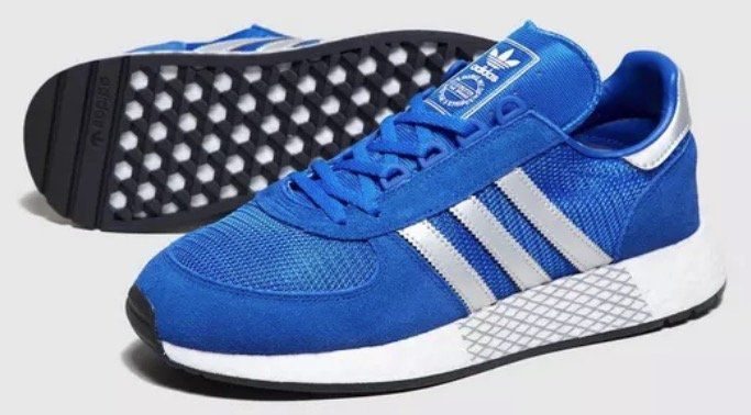 adidas Originals Marathon Boost in Blau für 45€