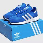 adidas Originals Marathon Boost in Blau für 45€