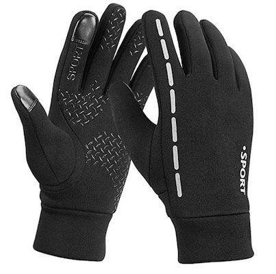 Wasserdichte Handschuhe mit Touchscreen Oberfläche an 2 Fingern ab 7,19€