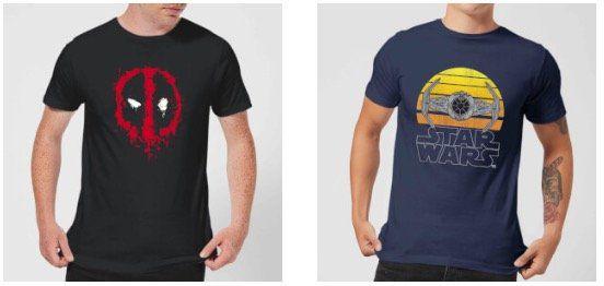 Geek Fan T Shirts (Deadpool, Star Wars, Zelda uvm.) für je 10,99€ bei Zavvi