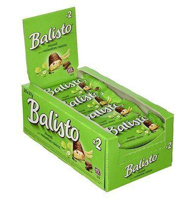 40er Pack Balisto Müsli Mix (je 37g) ab 14,22€(statt 18€)