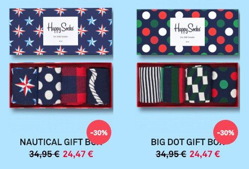 Happy Socks Sale + 30% Rabatt + VSK frei