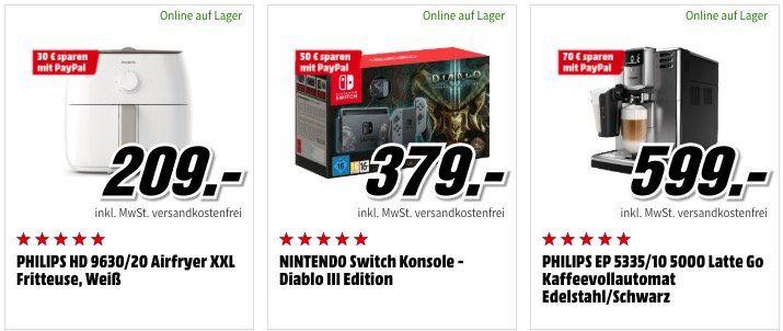 🔥 Media Markt Paypal Aktion mit bis zu 150€ Sofort Rabatt   HAMMER!