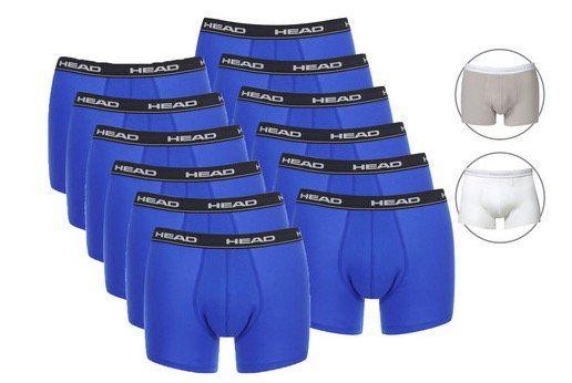 12er Pack HEAD Basic Herren Boxershorts für 35,90€ (statt 42€)