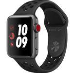 Wieder da! Apple Watch Series 3 Nike+ 38mm Smartwatch mit LTE und mit Nike Sportarmband für 237€ (statt 333€)