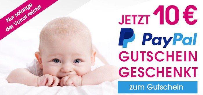 Geht wieder! 👶 10€ PayPal Gutschein bei Babymarkt mit 30€ MBW