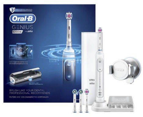 ORAL B Genius 9200W elektrische Zahnbürste + Reise Etui für 79,90€ (statt 89€) + 30€ Cashback
