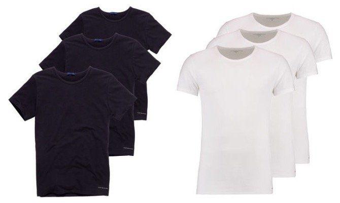 3er Pack Tommy Hilfiger Basic Herren T Shirts für 34,61€ oder 9er Pack für 88,98€