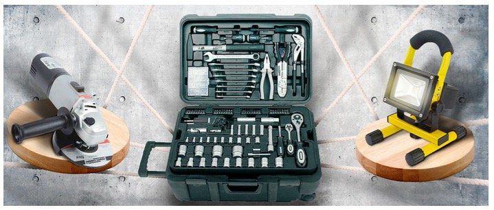 Brüder Mannesmann Werkzeug Sale bei Veepee   z.B. Li Ion Akku Schrauber 3,6V mit Arbeitsleuchte 19,99€ (statt 42€)